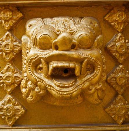 Native Thai style art  photo