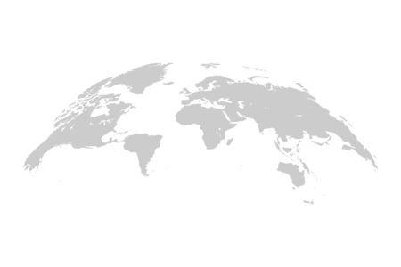 World map. 3D globe world map. Vector Illustration. Çizim