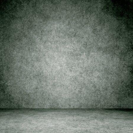 Designed grunge texture. Wall and floor interior background. Banco de Imagens