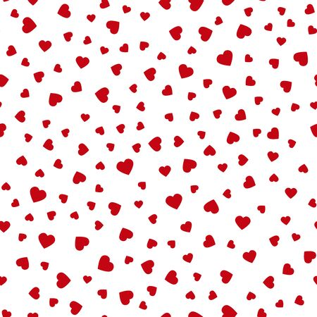 Seamless pattern with hearts. Holiday pattern. Valentines Day. Vector Illustration
