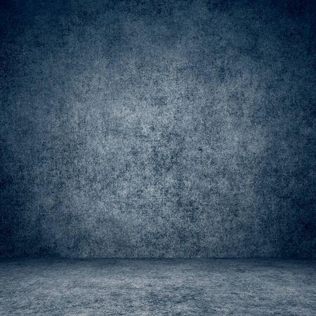 Entworfene Grunge-Textur. Wand- und Bodeninnenhintergrund.