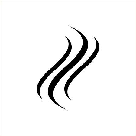 Smoke vector icon. Vector illustration
