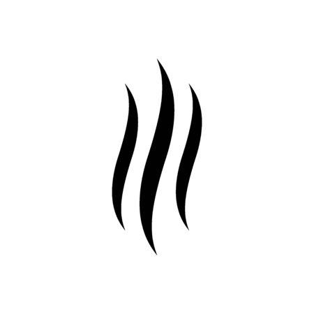 Rauch-Vektor-Symbol. Vektor-Illustration
