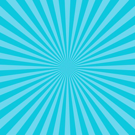 Abstract sun rays vector background Vector Illustration