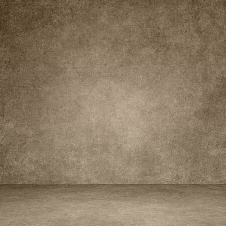 Designed grunge texture. Wall and floor interior background Imagens - 138297611