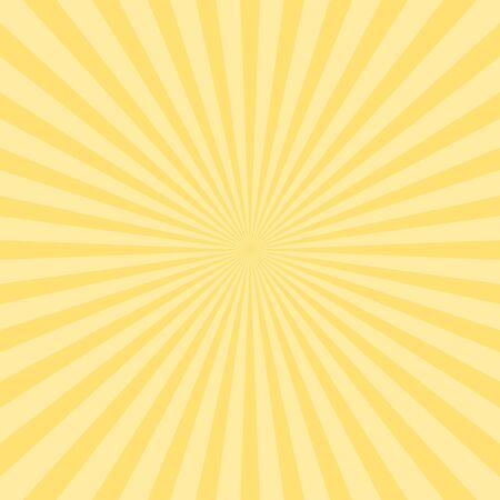 Fondo abstracto del vector de los rayos del sol