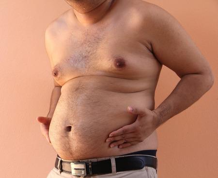 paunch: paunch Fat man