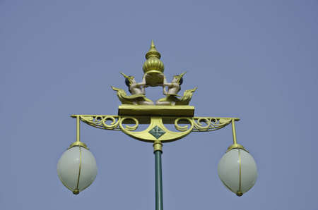Street lamp at Nonthaburi,Thailand photo