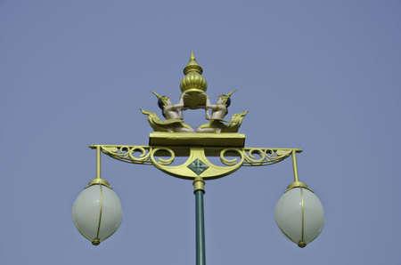 Street lamp at Nonthaburi,Thailand photo
