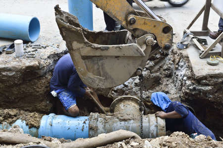 ineffective: Repair the broken pipe with replace new