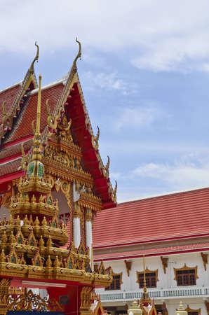 thai temple in Ayuthaya,Thailand photo