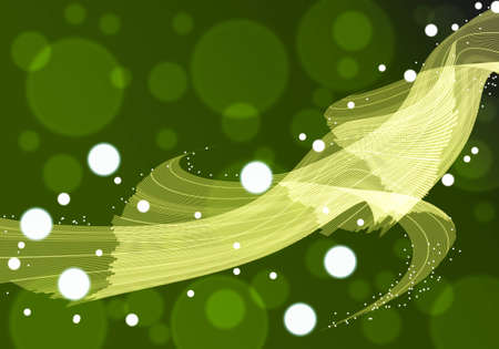 line abstract on green background photo