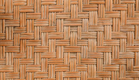 detail pattern of bamboo weave photo