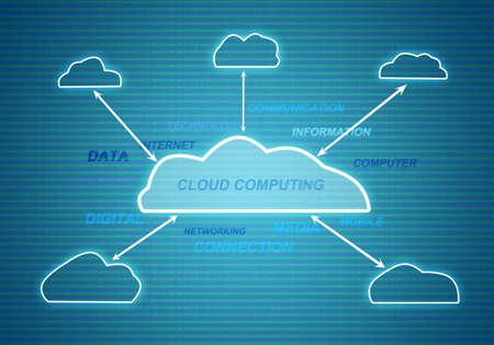 cloud networking digital technology photo
