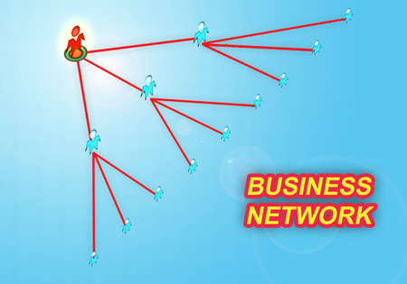mlm network,business concept photo