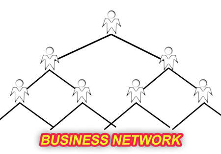 sketch of mlm business networking
