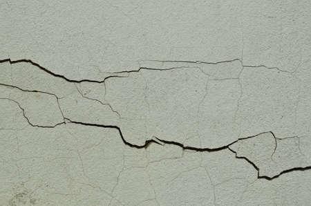 details of horizontal cracking wall