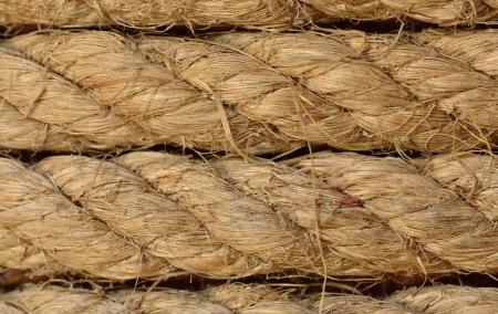 Hemp rope texture,close up Stock Photo - 17566963