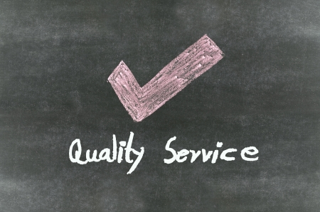 quality service Stock Photo - 18192661