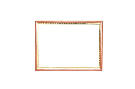 picture frame on white background. photo