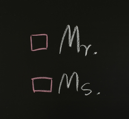 ms: Mr. and Ms.,checkbox on blackboard