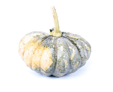 Green Pumpkin isolate on white