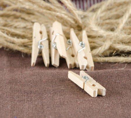 clothes pin: vintage style wooden clothes pin