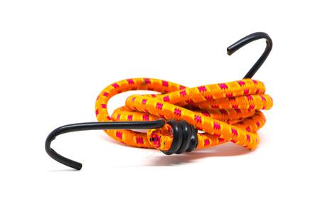 elasticity: correa de la cuerda elástica aislado en blanco