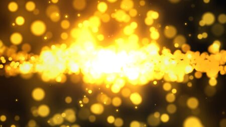 abstract bokeh light for background Stock Photo