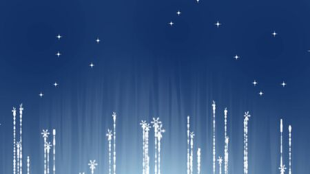 stars abstract on blue background