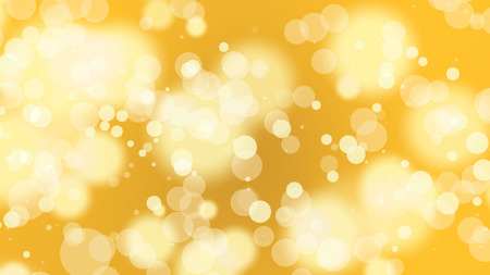 abstract yellow brigh bokeh for background