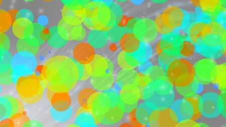 abstract colorful brigh bokeh for background