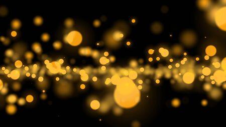 abstract light blur bokeh background Stock Photo
