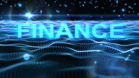 finance text concept for background