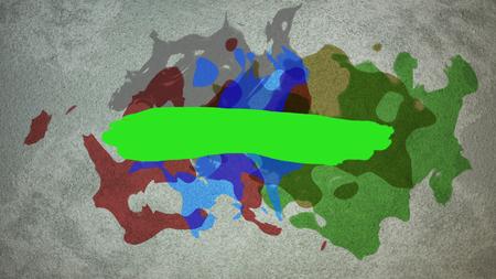 ink drop on grunge texture background