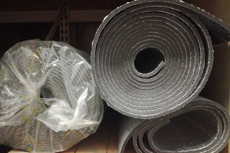 Polyethylene Insulation isolation foam with aluminum foil in rolls