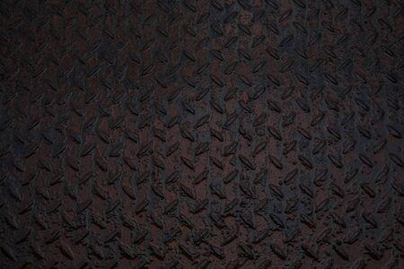 Grunge dark grey rusting rough texture for background