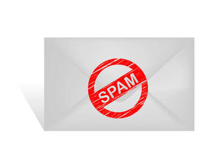spam email Illustration