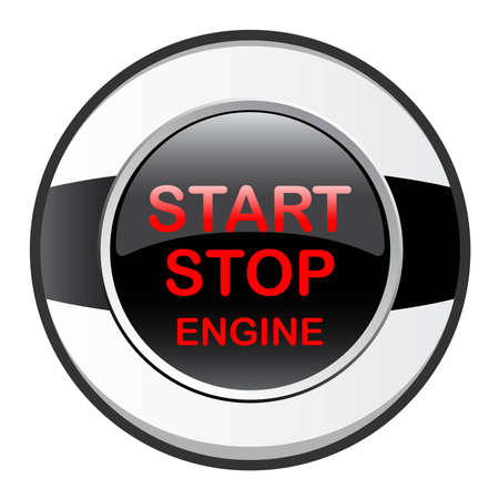 electric automobile: stop start engine