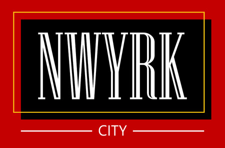 New york city slogan for t shirt printing, Graphic tee and printed tee