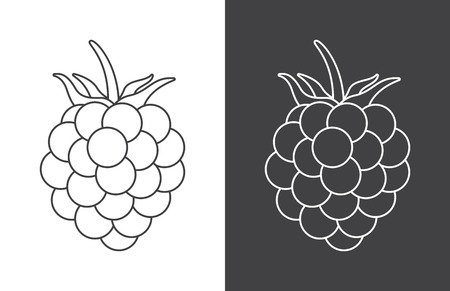 Berry sign icon for background, promotion, sale, template, banner, flayer, poster and other