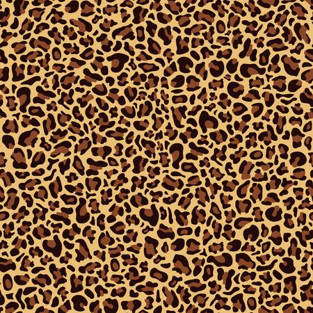 Seamless pattern of leopard skin, textile design Archivio Fotografico - 124171954