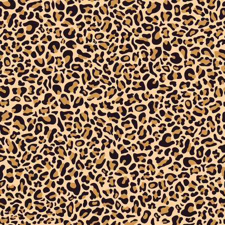 Seamless pattern of leopard skin, textile design Archivio Fotografico - 124171961