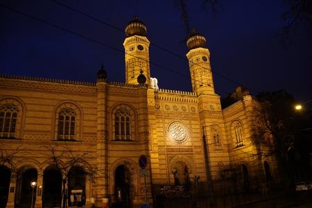 Synagogue in Budapest 版權商用圖片