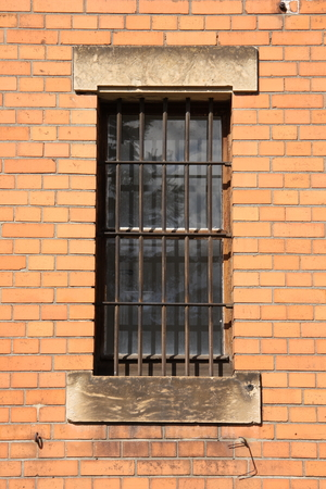 Window of an old prison