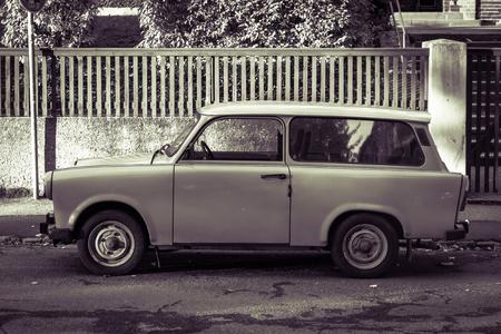Trabant car Standard-Bild
