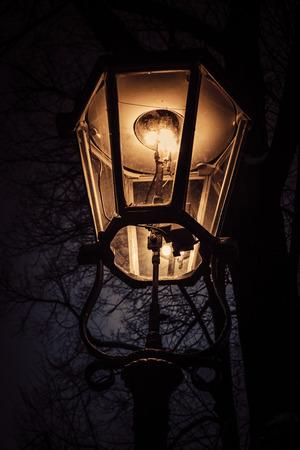 Gas lantern in Dresden Reklamní fotografie