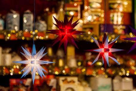 Christmas market Dresden Stock Photo