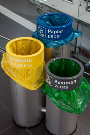 Different color bins