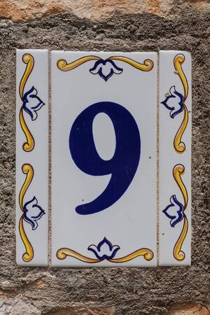 House number 9 Imagens